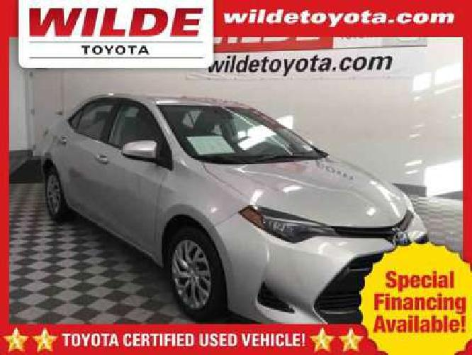 Used 2017 Toyota Corolla Sedan