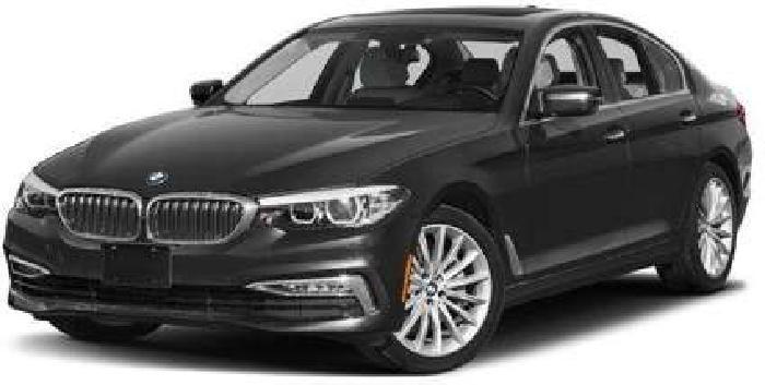 Used 2018 BMW 5 Series Sedan