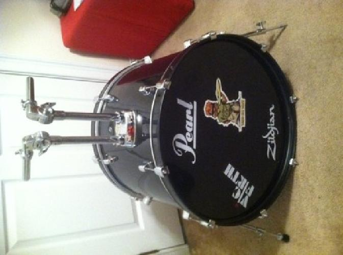 used pearl forum series bass drum for sale in auburn university alabama classified. Black Bedroom Furniture Sets. Home Design Ideas
