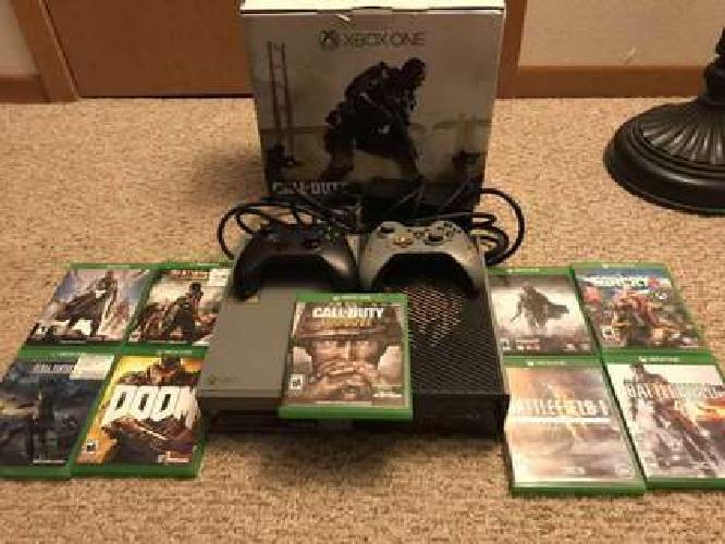 Xbox One Call of Duty: Advanced Warfare Limited Edition 1TB+games