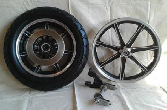 Yamaha XS650 MAG Wheel Set
