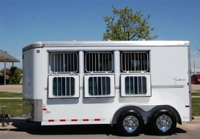 zSportman 2011 Sundw 3 BP Horse Trailer